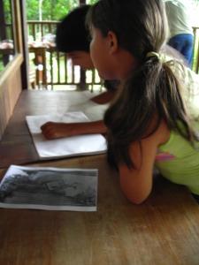 Escribiendo historias a partir de una imagen