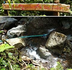 El acueducto  de Quebradas